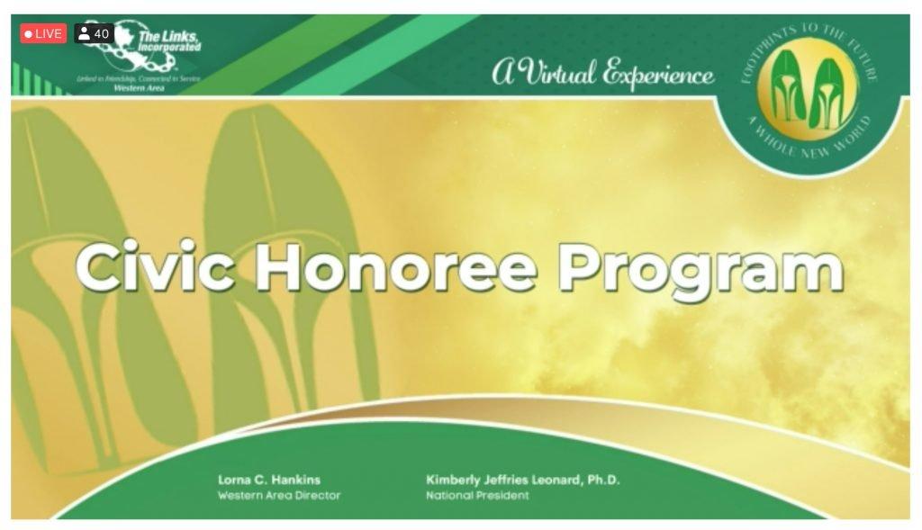 Civic Honoree Program